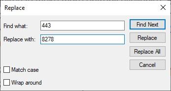 Xampp Apache server httpd-ssl file port